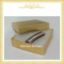 gold foil gift boxes 33 gold foil 50pcs cotton filled paper box fancy gift box bracelet