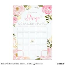 Wedpics Invite Cards Printable Bridal Shower Bingo Cards To Give Your Guests A Little
