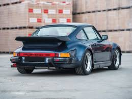 porsche whale tail for sale rm sotheby u0027s 1986 porsche 911 turbo u0027flat nose u0027 paris 2017