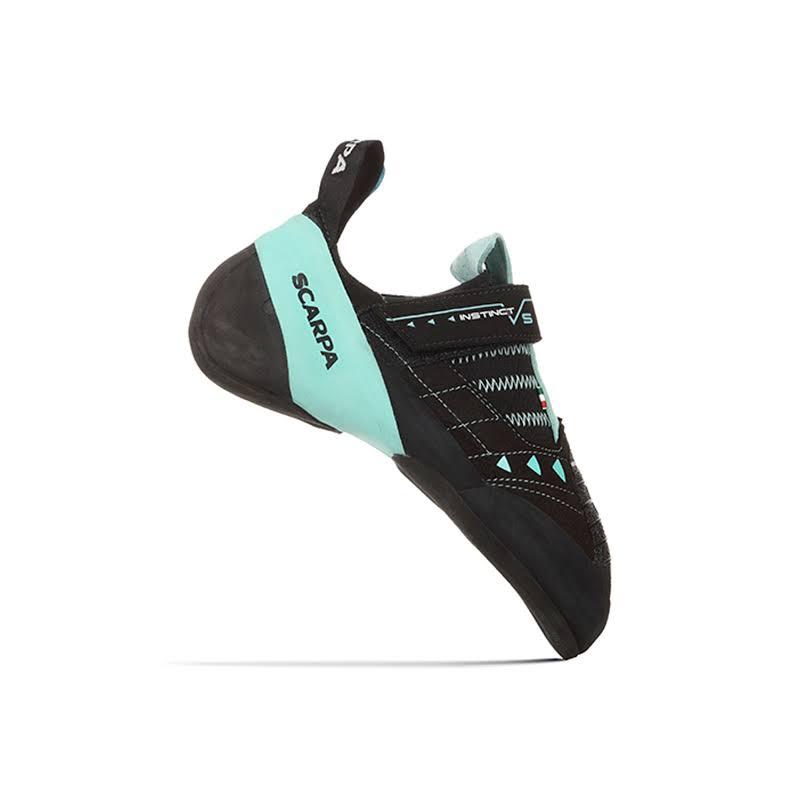 Scarpa Instinct VS Climbing Shoes Black/Aqua Medium 39.5 70013/002-BlkAqua-39.5