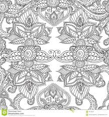 henna coloring pages coloring pages for adults seamles henna mehndi doodles abstract