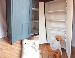armoire vintage chambre grande armoire parisienne trendy