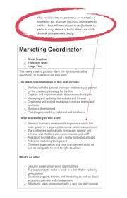 Resume Examples Marketing by Objective In A Resume Examples Resume Examples 2017