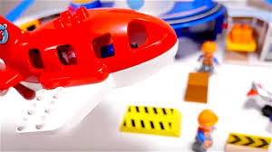 trains for kids planes for kids lego airport videos for kids