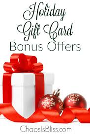 gift card offers gift card bonus offers