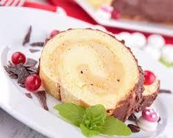 recettes cuisine noel recette bûche de noël au mascarpone et au caramel rapide facile