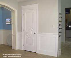 Recessed Baseboards by Shaker Wainscoting Kit 38