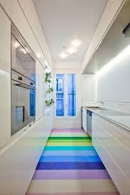 cuisine couloir aménager une cuisine linaire dans un espace couloir future
