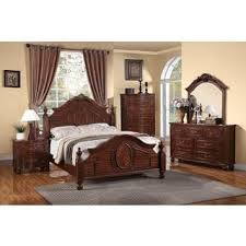 Traditional Cherry Bedroom Furniture - cherry finish traditional bedroom sets u0026 collections shop the