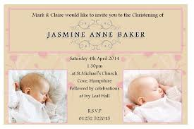 Invitation Card Templates Free For Word Free Baptism Invitation Template Free Christening Invitation