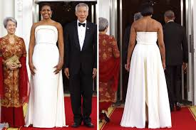 obama dresses obama s gucci dress may an underlying message