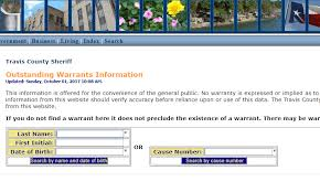 do bench warrants show up on background checks travis county warrants check outstanding warrants in travis