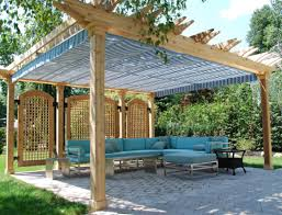 patio u0026 pergola decor stone pavers design ideas with green grass