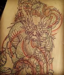 japanese dragon tattoo flash google search flash pinterest