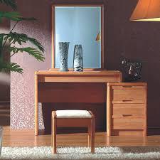 oak wood bedroom furniture italian style rubber wood makeup vanity