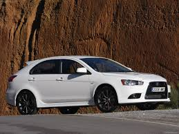 white mitsubishi lancer mitsubishi lancer sportback ralliart photos photogallery with 13