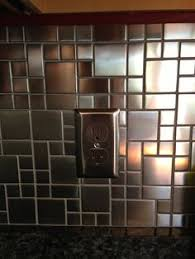 Stainless Steel Mosaic Tile Backsplash by White Glass Mixed Silver Stainless Steel Mosaic And Diamond For