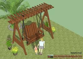 Pergola Swing Set Plans by Home Garden Plans Furniture