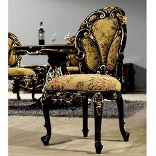 Baroque Home Decor Buy Black Baroque Dining Chair Mahogany Antique Furniture