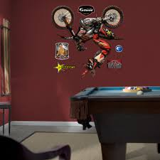 39 motocross wall decal motocross wall decals vinyl stickers details about fathead action sports motocross wall decal