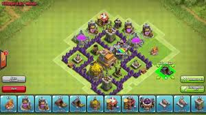 Clash Of Clans Maps Clash Of Clans Level 8 Town Hall Trophy Base