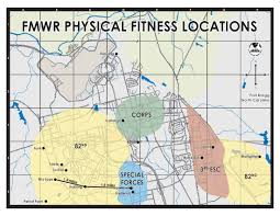 Military Bases In United States Map by Us Army Mwr Fitness Centers