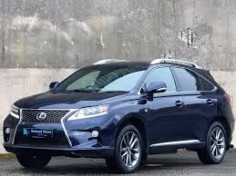 lexus used uk used lexus rx 450h suv 3 5 f sport station wagon cvt 4wd 5dr in