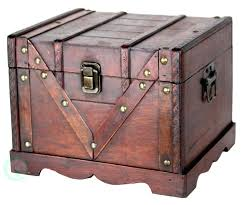 small trunks chests best decorative storage ideas on wooden
