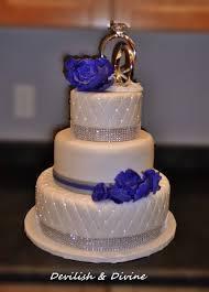 rhinestone cake edible rhinestones were added to the quilting diamond border wraps
