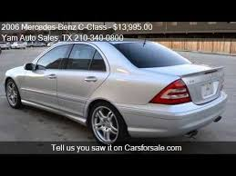 2006 mercedes c55 amg 2006 mercedes c class c55 amg 4dr sedan for sale in san