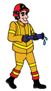 draw fireman professions occupations job easy step