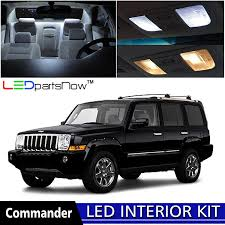 commander jeep 2010 amazon com ledpartsnow 2006 2010 jeep commander led interior