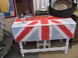 Union Jack Home Decor Decorating With Drop Leaf Tables Tidbits U0026twine