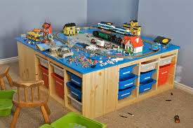 Christmas LEGO Table This is the table I built for my kids…