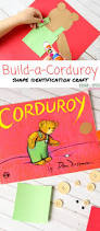 building corduroy the bear book crafts busy bags and activities