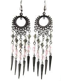 Pink Chandelier Earrings Pretty In Pink Chandelier Earrings Lotus