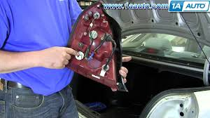 2006 hyundai sonata 3rd brake light replacement how to install replace change taillight and bulb 2001 06 hyundai