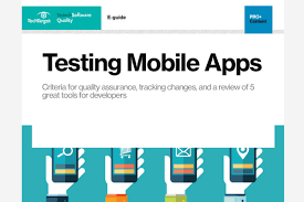 image gallery mobile application testing tool