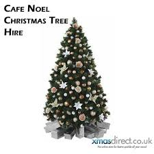 cafe noel christmas tree christmas trees for hire xmasdirect