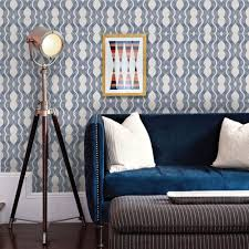Peel And Stick Removable Wallpaper by Wave Wallpaper Navy Peel And Stick