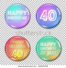 10th anniversary icons set happy birthday stock vector 638496133