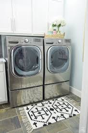 pretty u0026 functional laundry room details room reveal zdesign