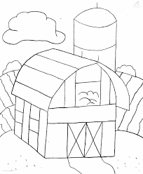 colouring pictures of homes of animals home pictures