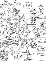 zoo coloring pages preschool free printable zoo coloring pages for kids zoos school and activities