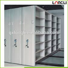file and storage cabinet office large capacity closed high density steel mobile file storage