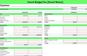 Event Planning Sheet Template 10 Best Images Of Event Budget Sheet Template Event Planning