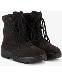 s lace up combat boots size 11 shop s yeezy boots from 250 lyst