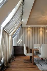 dachfenster deko 1001 ideen für dachfenster gardinen und vorhänge