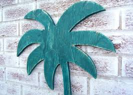 palm tree sign large 31 large wall sign wood cut out shape