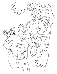 Cheetah Too Scares Coloring Pages Download Free Cheetah Too Coloring Scares